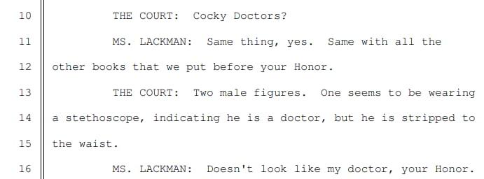 cockygate transcript