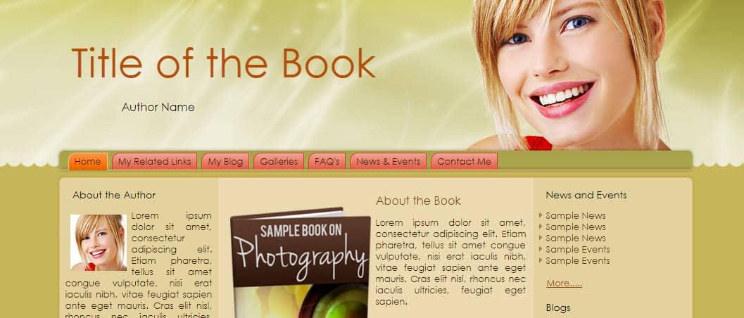 Crappy web site picture
