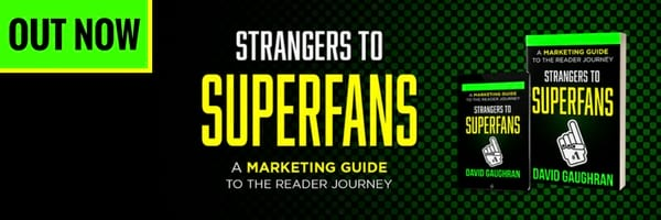 Strangers to Superfans promo graphic