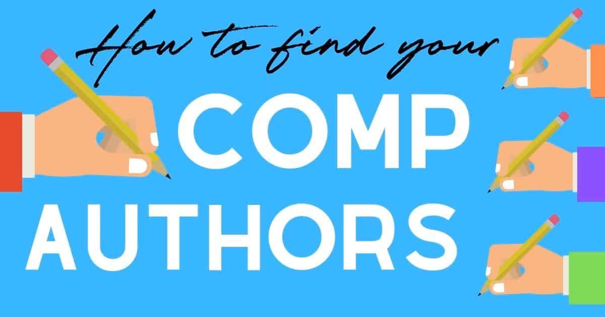 How to find your comp authors header image