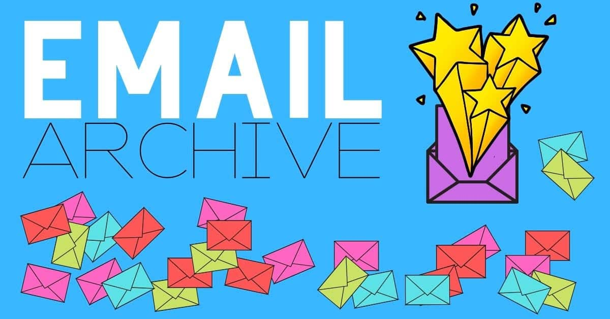 Email Archive header