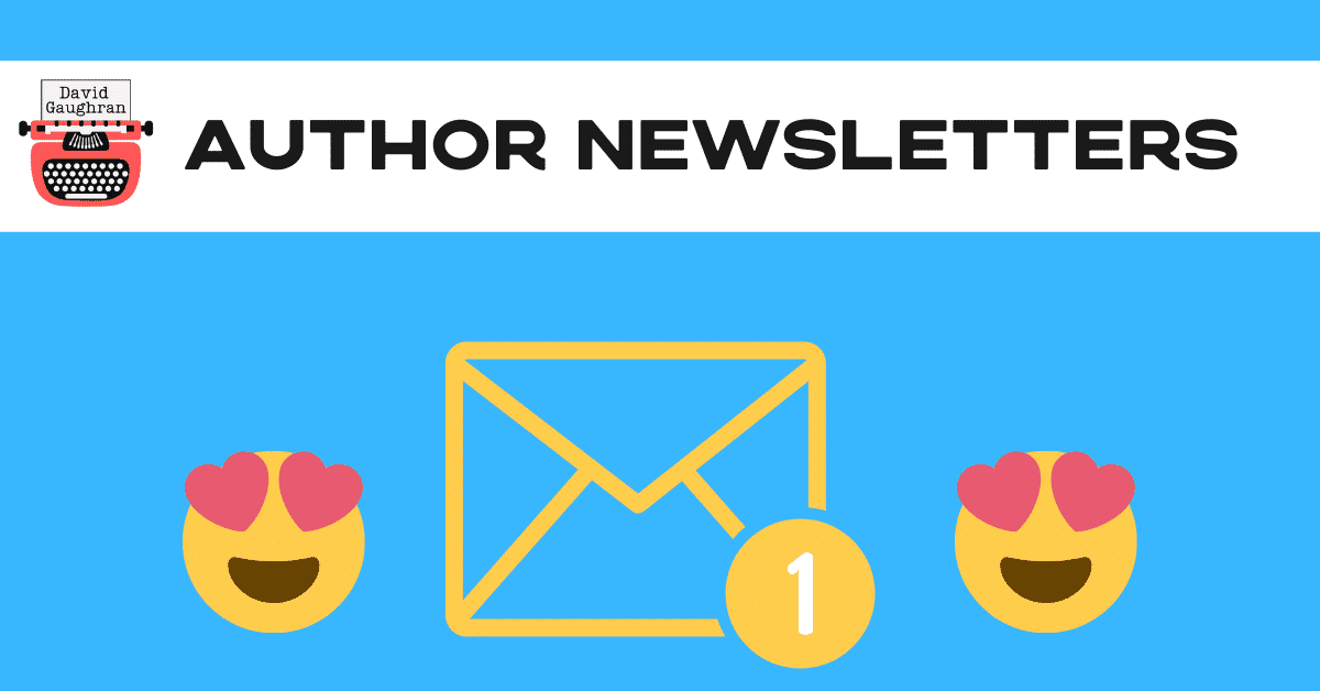 Author newsletters blog header