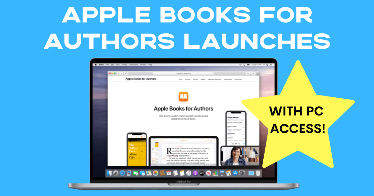 Apple Books For Authors header graphic