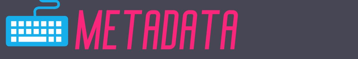 Self-Publishing Resources - Metadata Divider
