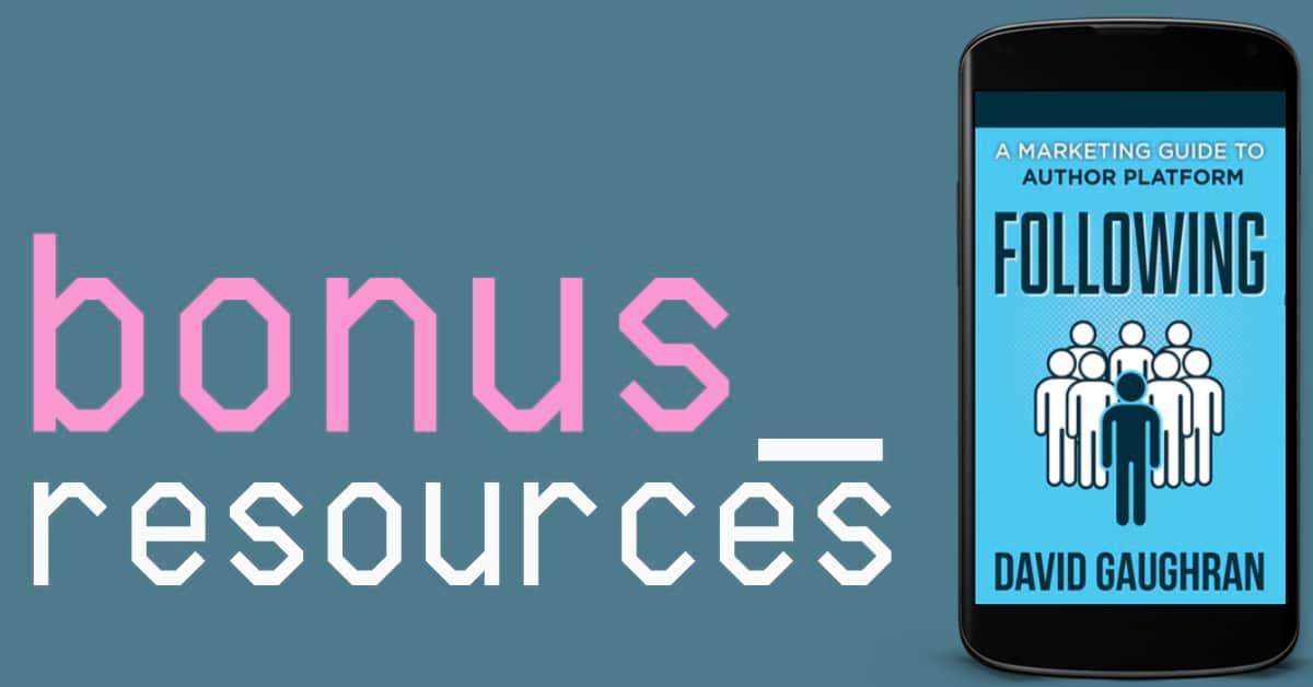 Following - Bonus Resources