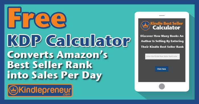 Sales Rank Calculator from Kindlepreneur