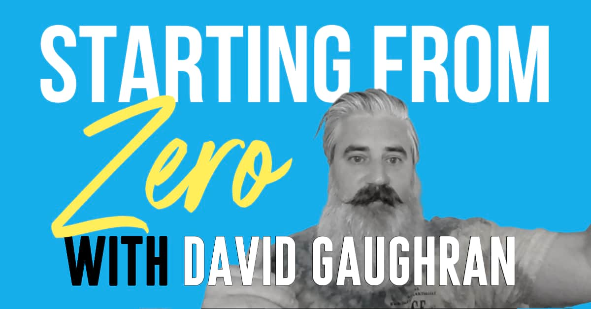 how to market a book - Starting from Zero by David Gaughran