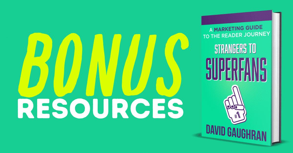 Strangers to Superfans Resources header
