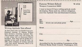 Jessica Mitford and the Famous Writers School