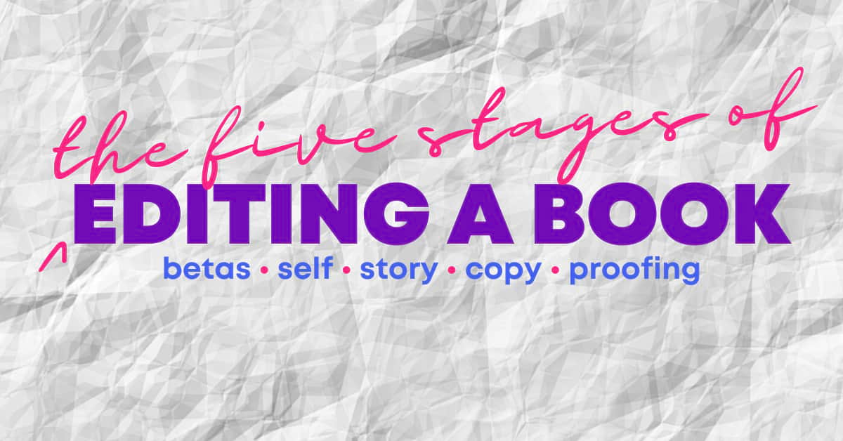 Self-editing is a concept which can cause confusion but a professional editor is here to set you straight, and you can learn how to edit your own book, but also why it isn't a replacement for professional editing